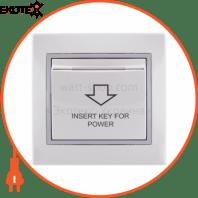 Энергосавер (карточного типа с логотипом) 701-0215-119 Цвет Белый / Серый Задержка