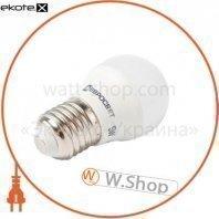 Лампа светодиодная евросвет 5 Вт 3000К Р-5-3000-27 E27