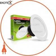 Светодиодный EUROLAMP LED Светильник круглый DownLight 12W 4000K