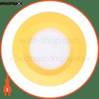 Свiтильник свiтлодiодний AL525, жовтий 3W 5000K