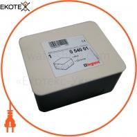Монтажная коробка для лючка на 4 модуля, 54001 Legrand