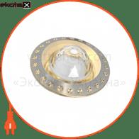 светильник точечный поворотный DELUX HDL16144 50Вт G5.3 титан-золото