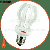 Лампа энергосберегающая e.save.flower.E27.25.2700, тип flower, патрон Е27, 25W, 2700 К