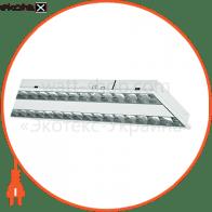 Растровый светильник  DEDRA T5 DPB 2x28W HF