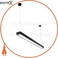 Светильник светодиодный Sign-30 подвесной линейный на тросах 30Вт 4200К черный