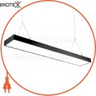 Светильник светодиодный Sign-48 подвесной линейный на тросах 48Вт 4200К черный