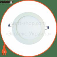світильник світлодіодний стельовий DELUX CFR LED 10 4100К 6Вт 220В коло