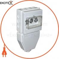 Коробка распределительная пластиковая SB IP 43 под автоматичний вимикач, що вкручується