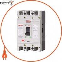 Силовой автоматический выключатель e.industrial.ukm.100SL.100, 3р, 100А