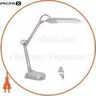 Светильник светодиодный настольный MAGNUM NL011 4100К 7Вт серебро (струбцина+подставка)