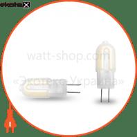 EUROLAMP LED Лампа капсульна Plastic G4 2W G4 3000K 12V (1000)