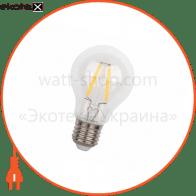лампа світлодіодна DELUX BL 60 4Вт filam.2700K 220В E27 теплий білий
