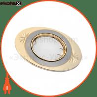 светильник точечный поворотный DELUX HDL16136R 50Вт G5.3 титан-золото
