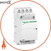 Модульный контактор iCT16A 4НО 220/240В АС 50ГЦ