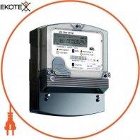 Счетчик трехфазный с ж/к экраном NIK 2303 АРП1 1100 MC 3х220/380В прямого включения 5(100)А, с защитой от магнитных и радиопомех.