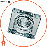 8180-2 MR16 прозрачный-квадрат50W