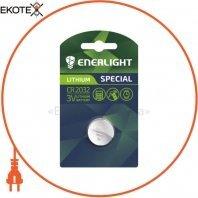 Батарейка ENERLIGHT LITHIUM CR 2032 BLI 1