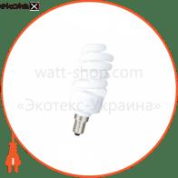 компактна люмінесцентна лампа DELUX T2 Full-spiral 15Вт 2700К Е14