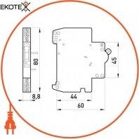 Enext i0240001 блок сигнальных контактов e.industrial.acs.znh.20