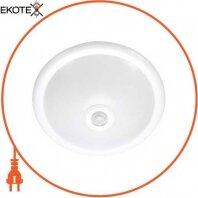 Светильник потолочный с датчиком движения e.sensor.lum.78.e27. белый (белый) 360°, IP20