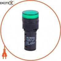 Светосигнальная арматура e.ad16.12.green O16мм 12В АС/DC зеленая
