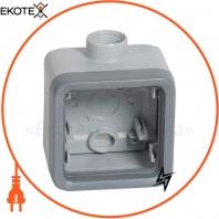 Plexo Коробка для накладного монтажа 1-постовая (1 ввод PG16 диам.7-14мм) ИР55, ИК07, (069652) Legrand