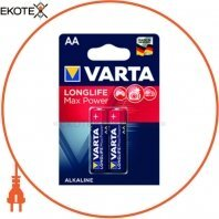 Батарейка VARTA LONGLIFE MAX POWER AA BLI 2 шт