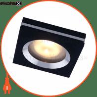 Встраиваемый светильник Feron DL151 черный алюминий 28162