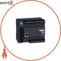 Компактный базовый блок M221-24IO транзисторный источник