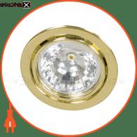 Встраиваемый светильник Feron DL3 золото 16043
