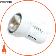 Светильник Feron RAD50 S белый с выключателем 14802