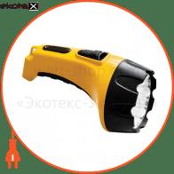 TH2295 аккум.фонарь (TH93С)DC желтый 15 LED