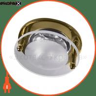 Встраиваемый светильник Feron 1787 R-39 золото  14166