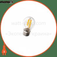 лампа світлодіодна DELUX BL50P 4 Вт filam.2700K 220В E27 теплий білий