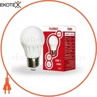 Светодиодная LED лампа TURBO 534304 G45 5Вт Е27шар 400Лм 4200К