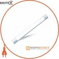 Світильник світлодіодний лінійний ЕВРОСВЕТ 18Вт 6400К EV-LS-18 IP20