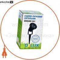 Delux 90012935 светильник садово-парковый ground 001 led 3*1w 5000к 220v ip44