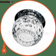 Встраиваемый светильник Feron C1033S хром 18710