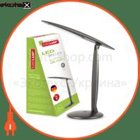 eurolamp led світильник настільний 5w 5000k сріблястий (12) светодиодные светильники eurolamp Eurolamp LED-TL-5W(silver)