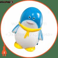 """Світильник нічний, FN1001 """"пінгвін"""" 1.5W синій"""