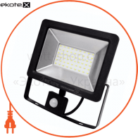 Прожектор з датчиком руху IP65 SMD LED 50W 6400K 2500lm 220-240v