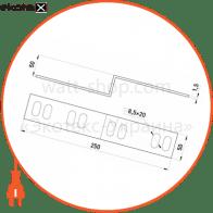 лівобічна редукція легка 50х50 мм
