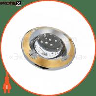 светильник точечный поворотный DELUX HDL16006 50Вт G5.3 зол.мат.-хром