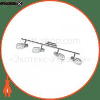 Світильник потолочний декор. 645mm 4xE14 хром 220-240v