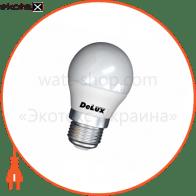 лампа світлодіодна DELUX BL50P 7Вт 4100K 220В E27 білий