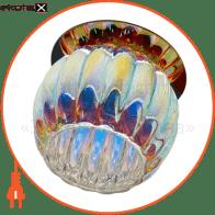 Встраиваемый светильник Feron JD93 мультиколор хром 28253