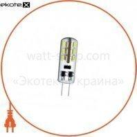 лампа светодиодная DELUX G4E 1,5 Вт 3000K 12В G4 теплый белый