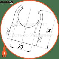 s12035003 Enext трубы металлические и аксессуары s-образна кліпса e.pipe.s.clip.stand.25 для труб d25мм