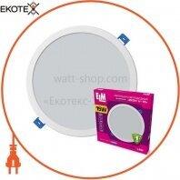 Светильник светодиодный встраиваемый Disk-V-15 15W 4000К IP20 белый 26-0086