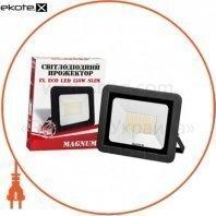 Прожектор светодиодный MAGNUM FL ECO LED 150Вт slim 6500К IP65